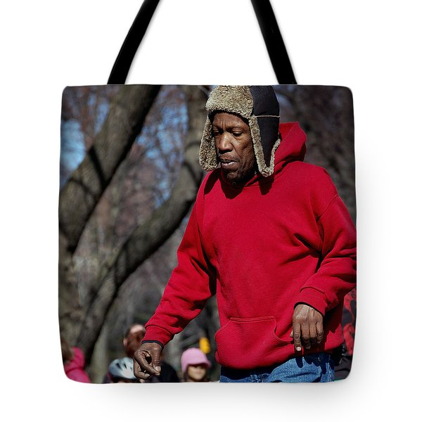 A Skater In Central Park - 2 Tote Bag by RicardMN Photography