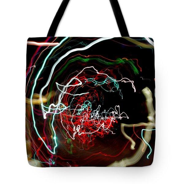 A Skewed Life Ahead Tote Bag by Peter Piatt