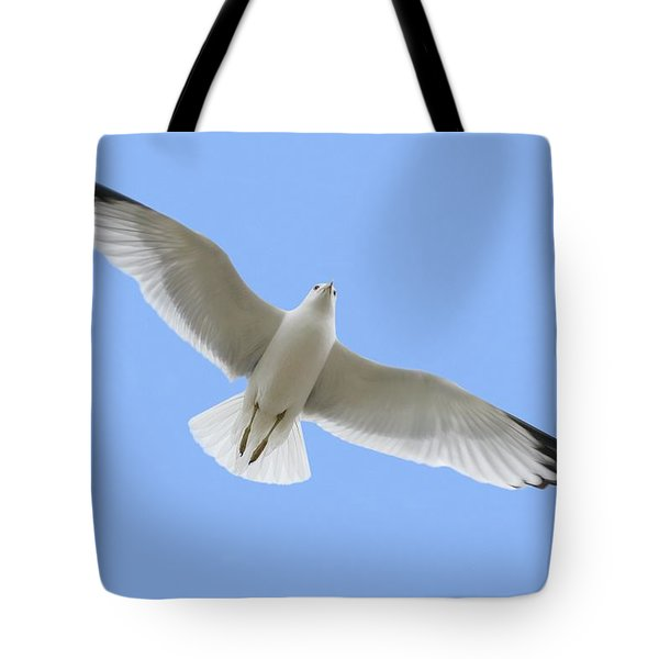A Soaring Dove Tote Bag by Don Hammond