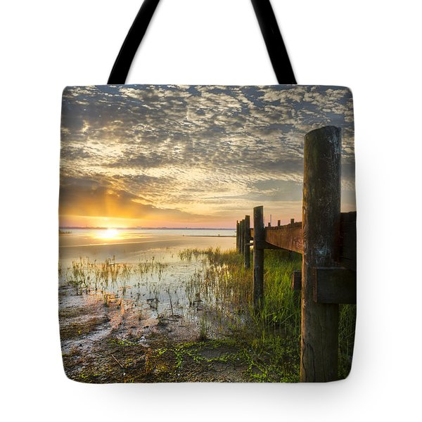 A Special Day Tote Bag by Debra and Dave Vanderlaan