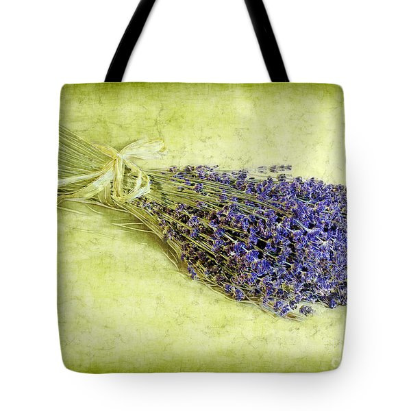 A Spray of Lavender Tote Bag by Judi Bagwell