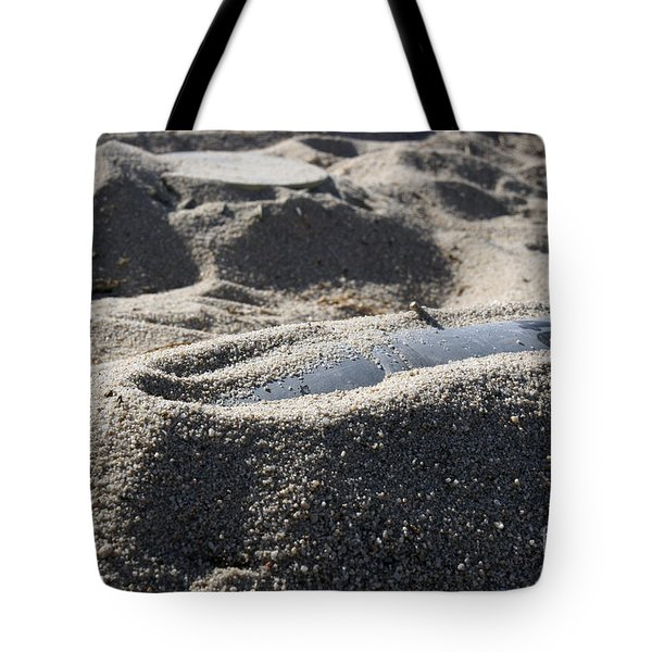 A Static Display Of An Ordnance Shell Tote Bag by Stocktrek Images