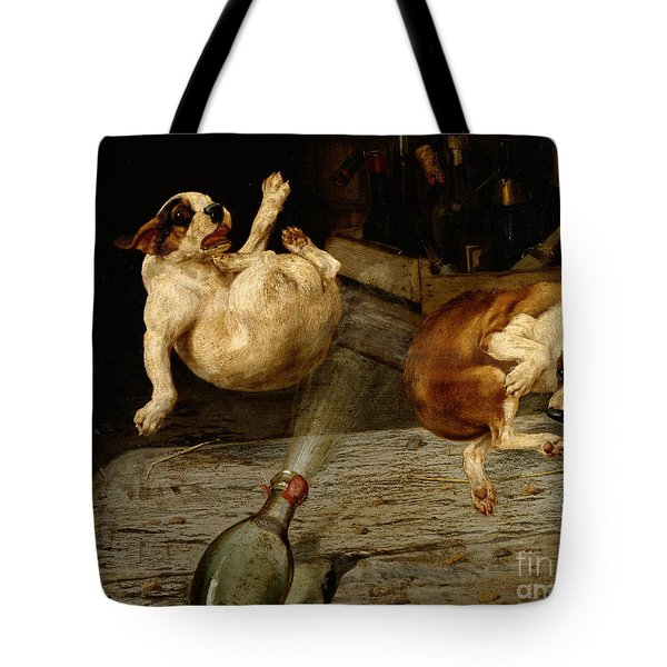 A Surprising Result Tote Bag by William Henry Hamilton Trood