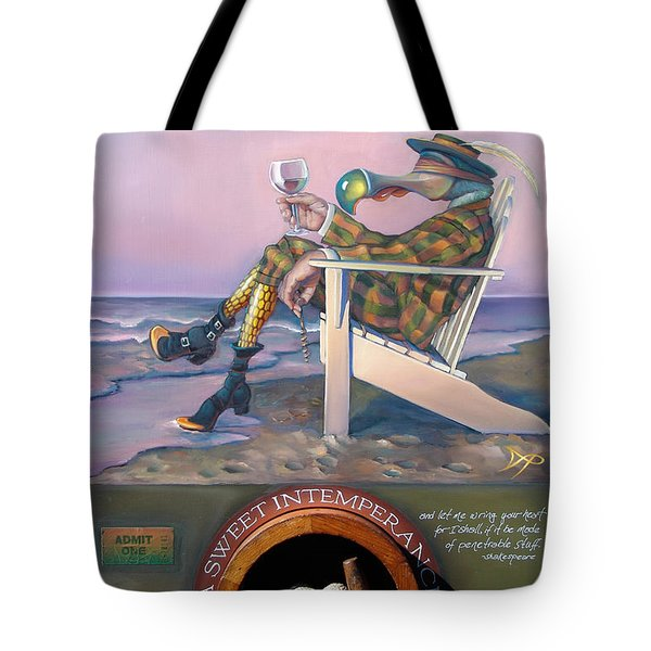 A Sweet Intemperance Tote Bag by Patrick Anthony Pierson