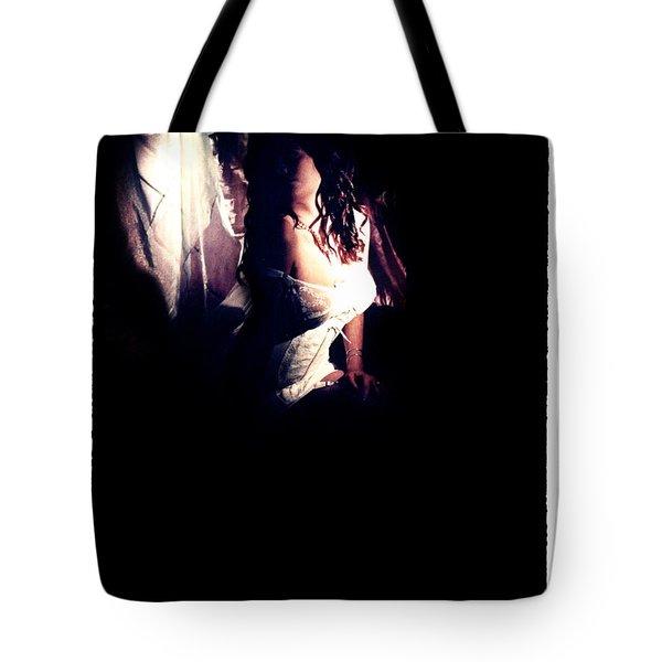 A Taste Of Film Noir Fetish Tote Bag by Lon Casler Bixby