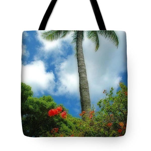 A Touch Of The Tropics Tote Bag by Lynn Bauer