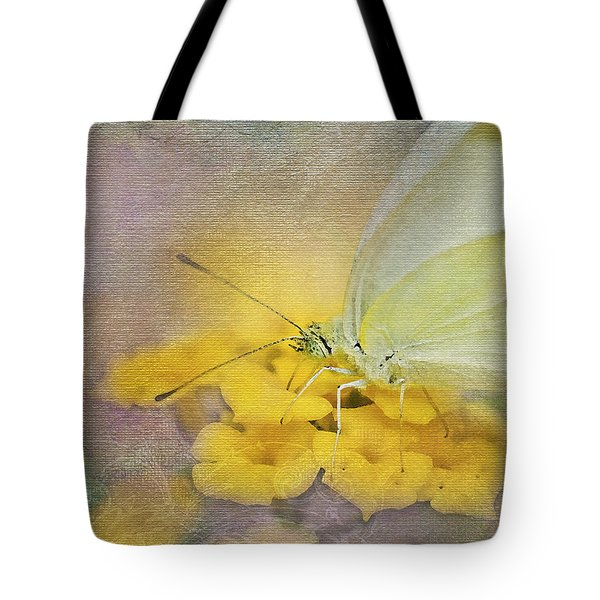 A Touch Of Yellow Tote Bag by Betty LaRue