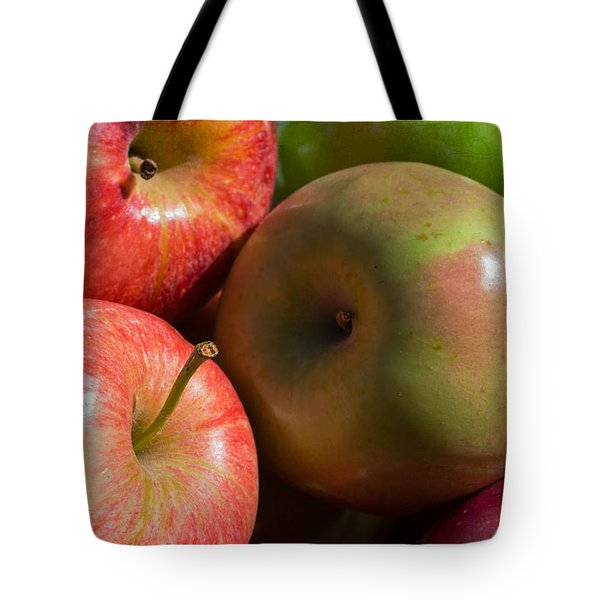 A Variety Of Apples Tote Bag by Heidi Smith