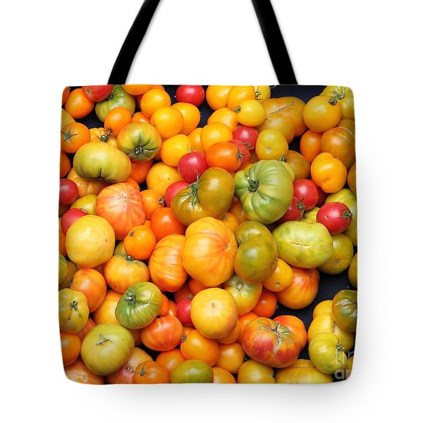 A Variety of Fresh Tomatoes - 5D17904 Tote Bag by Wingsdomain Art and Photography