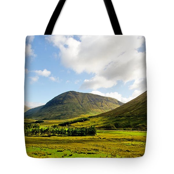 A View Over Rannoch Moor Tote Bag by Chris Thaxter