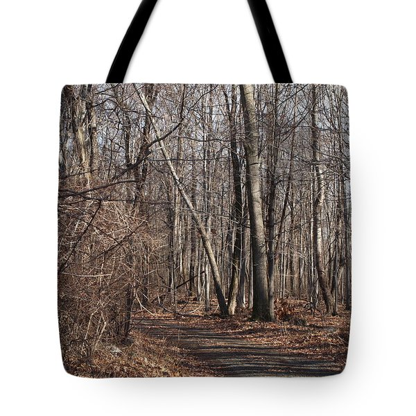 A Walk In The Woods Tote Bag by Robert Margetts