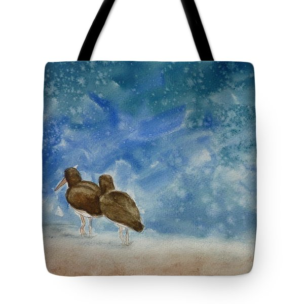 A Walk On The Beach Tote Bag by Estephy Sabin Figueroa