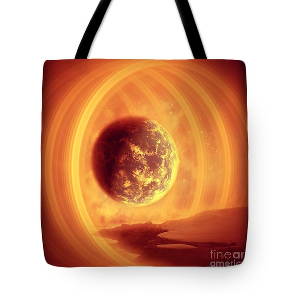 A Whole New World Tote Bag by Ester  Rogers