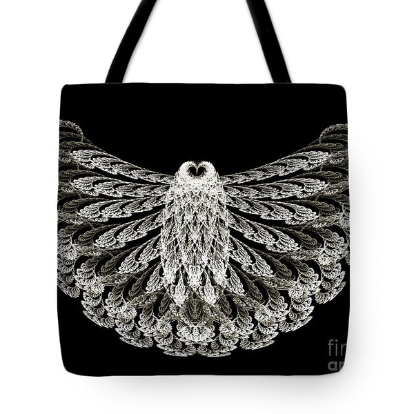 A Wise Old Owl Tote Bag by Andee Design