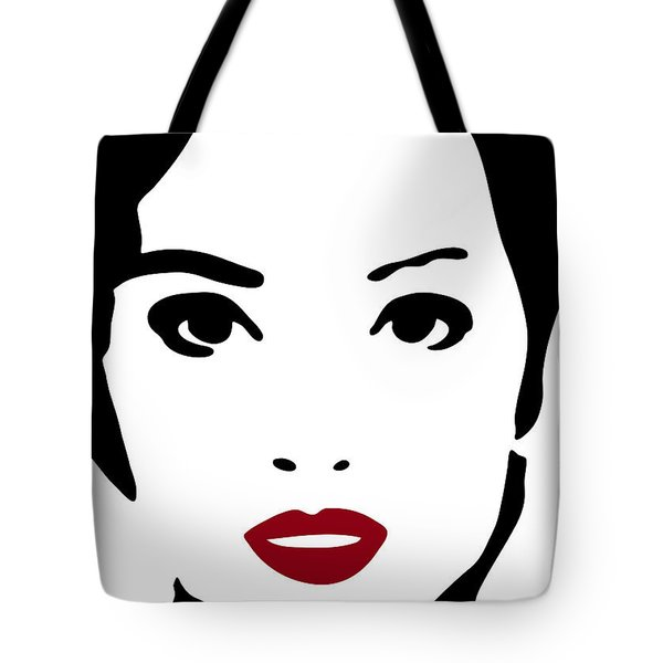 A Woman In Fashion Tote Bag by Frank Tschakert