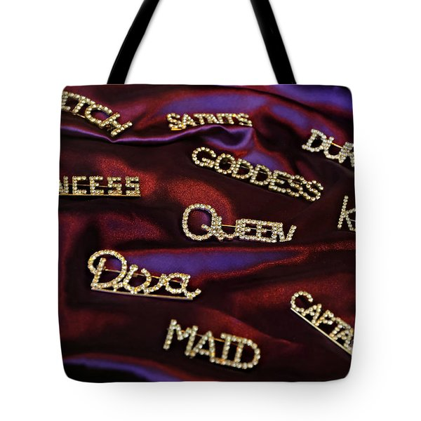 A Woman's Moods And Needs Tote Bag by Kathleen K Parker