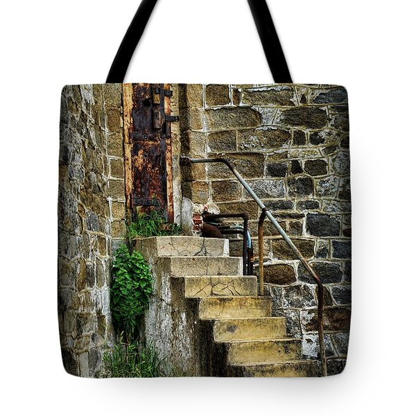 Abandon Hope Tote Bag by Paul Ward