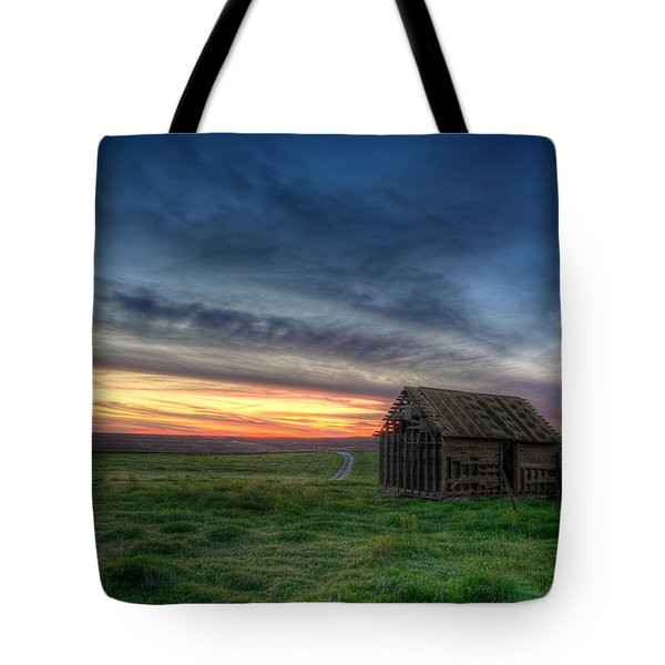 Abandoned Beauty Tote Bag by Thomas Zimmerman
