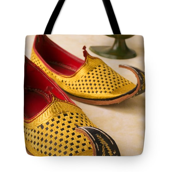 Abarian Shoes Tote Bag by Garry Gay