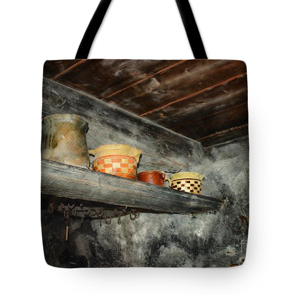 Above the Stove Tote Bag by Jutta Maria Pusl