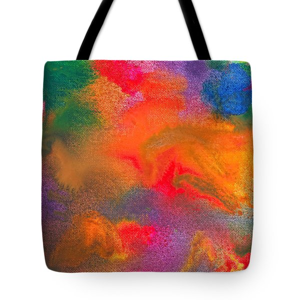 Abstract - Crayon - Melody Tote Bag by Mike Savad