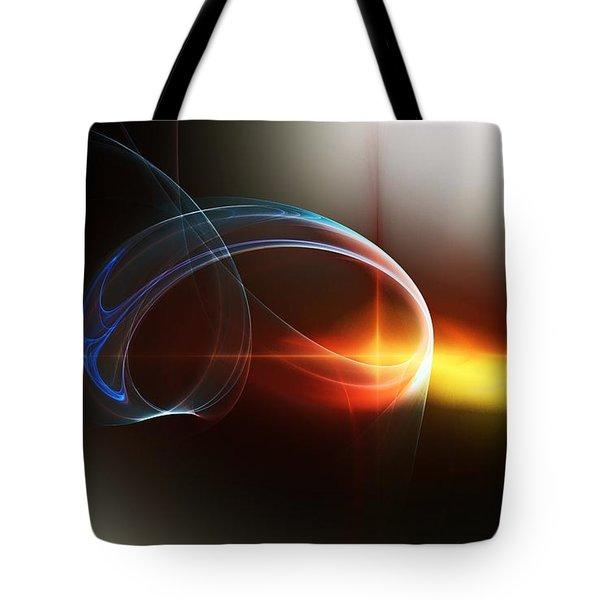 Abstract 101311c Tote Bag by David Lane