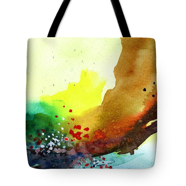 Abstract 5 Tote Bag by Anil Nene