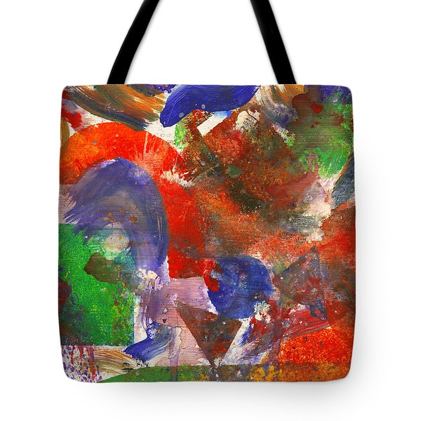 Abstract - Acrylic - Synthesis Tote Bag by Mike Savad