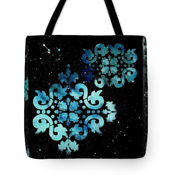 Abstract Art Original Decorative Painting Mysterious By Madart Tote Bag by Megan Duncanson