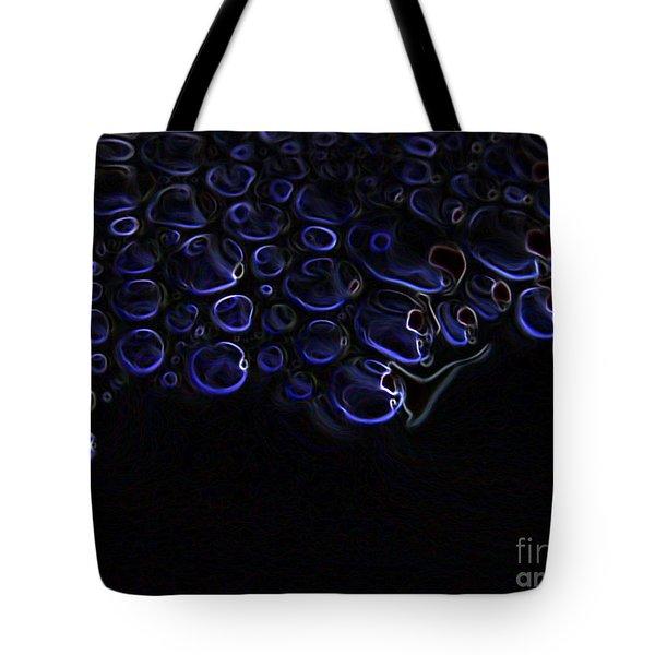 Abstract Art Series. Blue Fantasy. Tote Bag by Ausra Huntington nee Paulauskaite