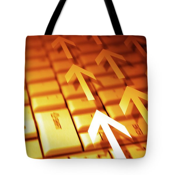 abstract background Tote Bag by Carlos Caetano
