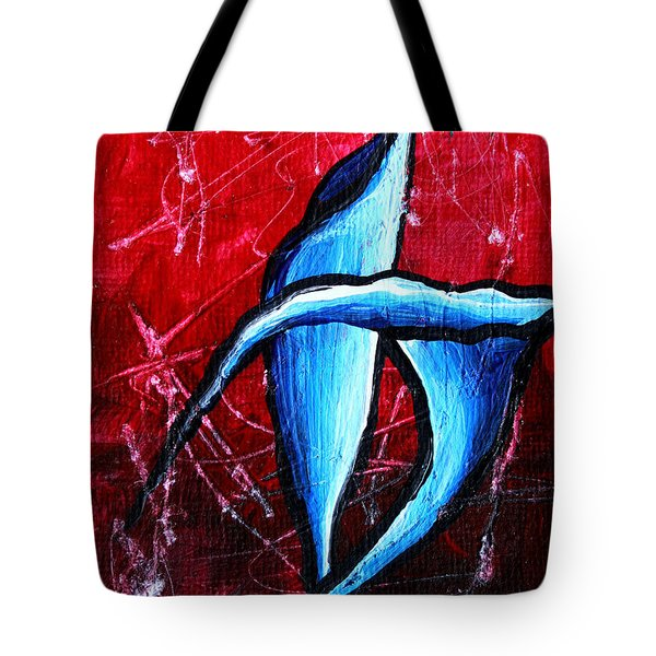 Abstract Calla Lilly Textured Painting GREETING LILLIES by MADART Tote Bag by Megan Duncanson
