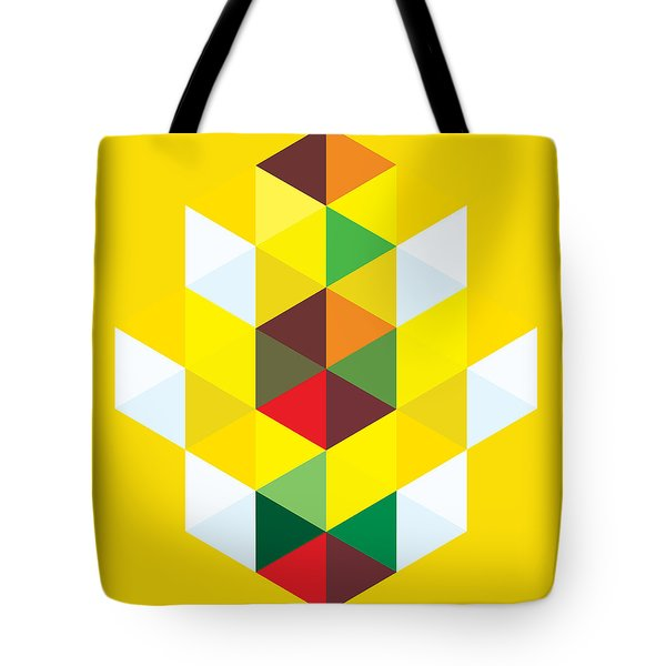 Abstract Cubes Tote Bag by Gary Grayson