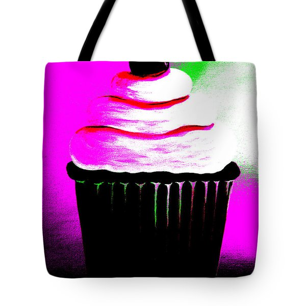 Abstract Cupcakes By Shawna Erback Tote Bag by Shawna Erback