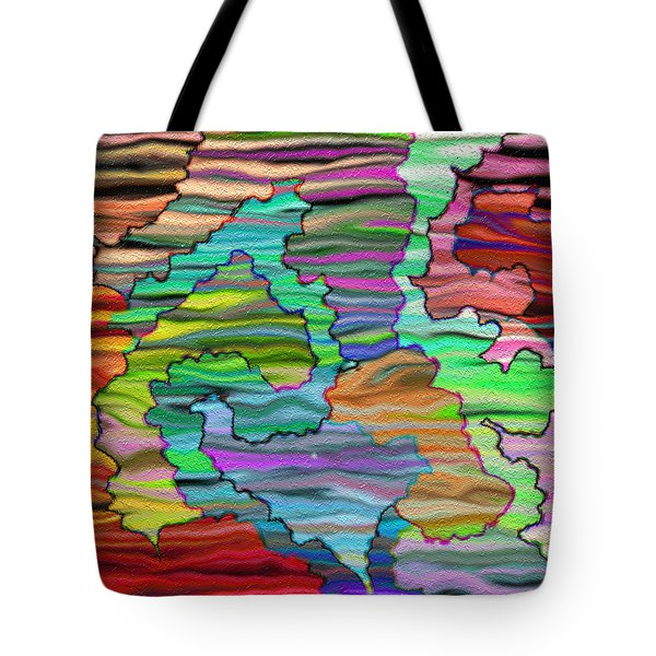 Abstract Emotions Tote Bag by Gina Lee Manley