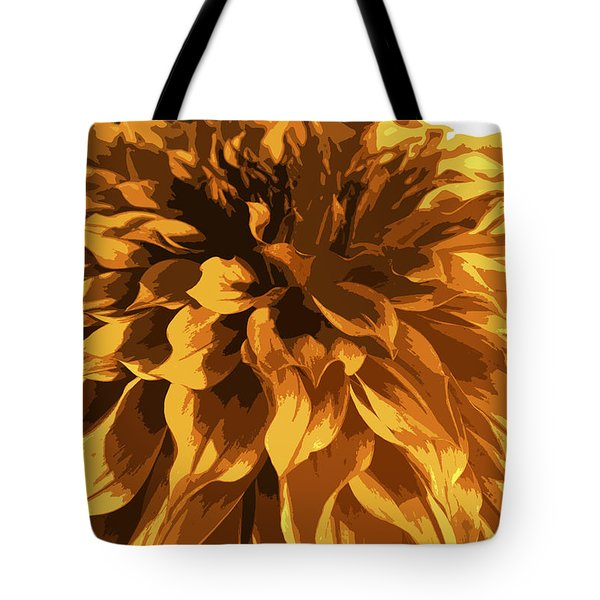 Abstract Flowers 14 Tote Bag by Sumit Mehndiratta