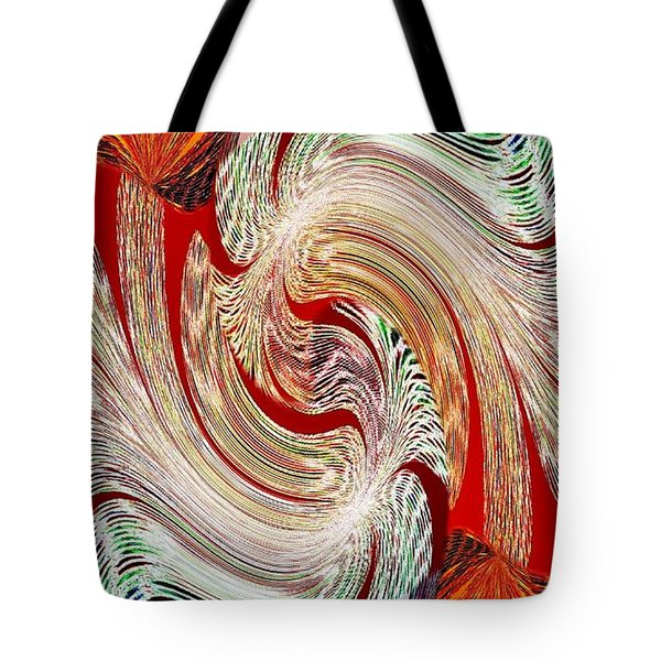 Abstract Fusion 148 Tote Bag by Will Borden