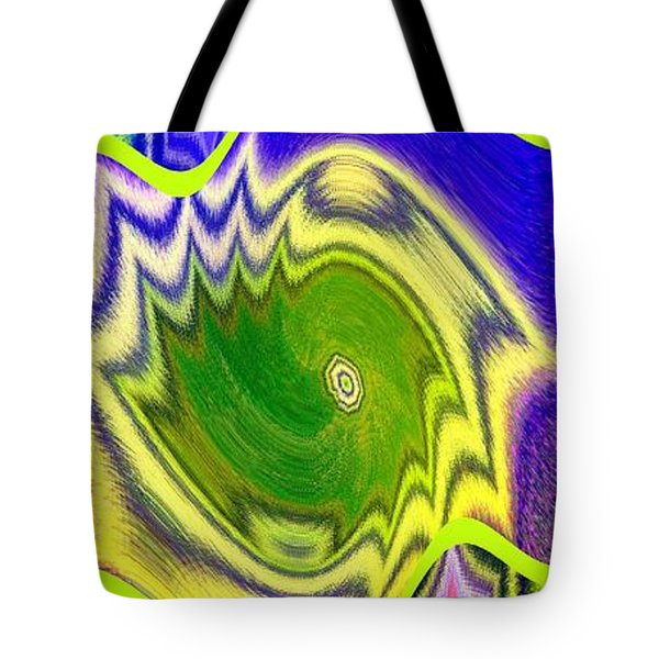 Abstract Fusion 157 Tote Bag by Will Borden