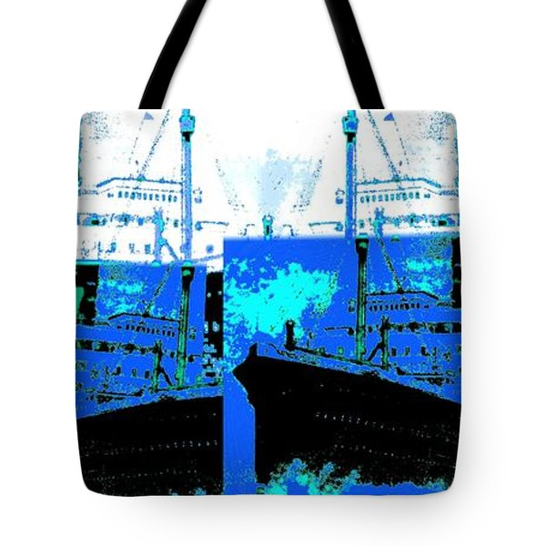 Abstract Fusion 21 Tote Bag by Will Borden