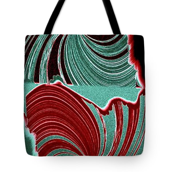 Abstract Fusion 88 Tote Bag by Will Borden