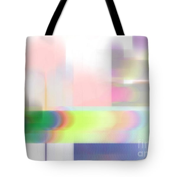 Abstract Landscape Tote Bag by Sonali Gangane
