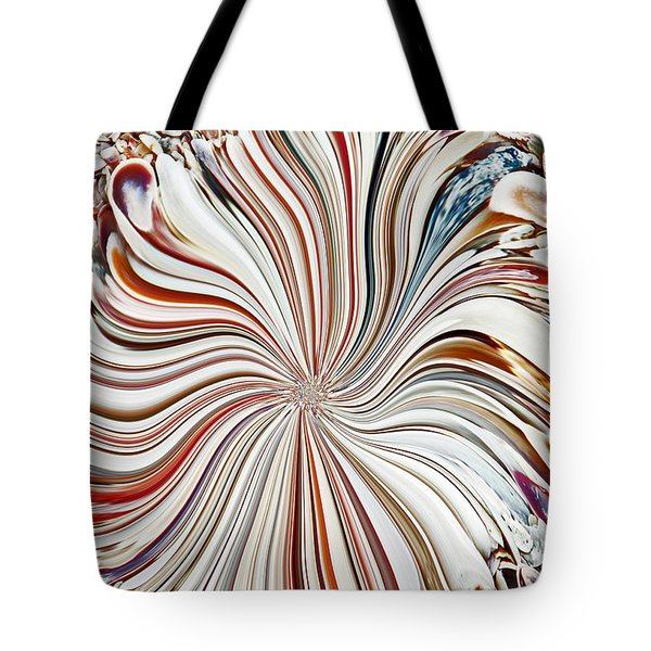 Abstract Seashells Tote Bag by Aimee L Maher Photography and Art