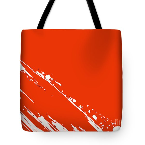 Abstract Swipe Tote Bag by Pixel Chimp