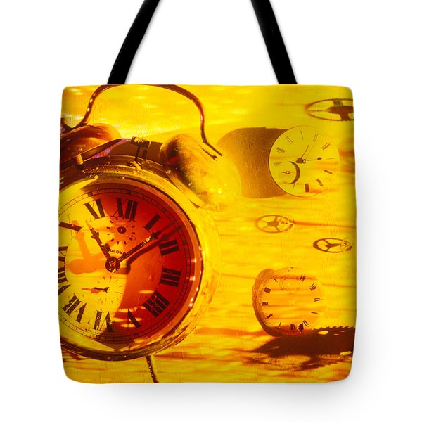 Abstract time Tote Bag by Garry Gay