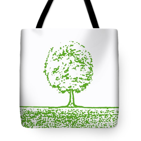 Abstract Tree By Shawna Erback Tote Bag by Shawna Erback