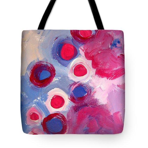 Abstract Vi Tote Bag by Patricia Awapara