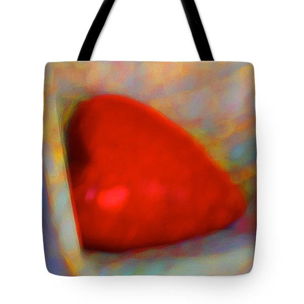 Tote Bag featuring the digital art Abundant Love by Richard Laeton