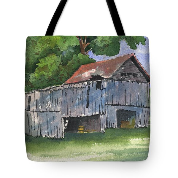 Across From Andies Tote Bag by Marsha Elliott