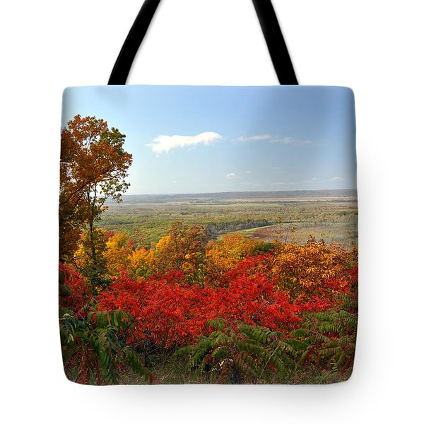 Across The Big Muddy Tote Bag by Marty Koch