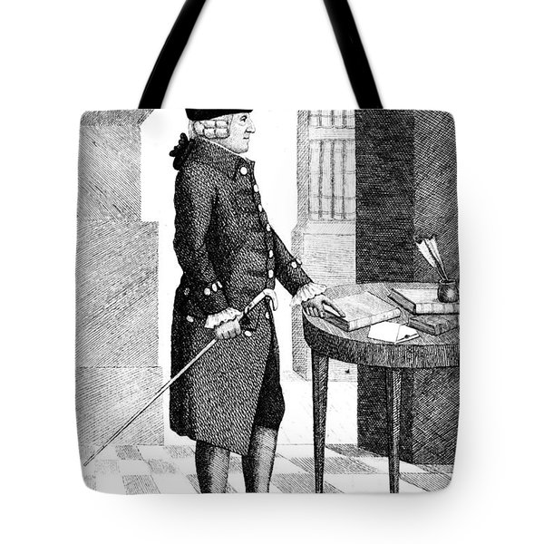 Adam Smith, Scottish Philosopher & Tote Bag by Photo Researchers